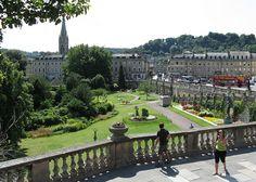 Parade Gardens, Bath, Somerset, England.