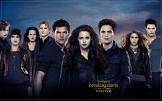 Twilight Breaking Dawn posters: Twilight Breaking Dawn Part 2 poster mainly featuring the main characters in the film. Kristen Stewart as Bella Swan, Robert Pattinson as Edward Cullen and Taylor Lautner as Jacob Black are all featured in this poster. Film Twilight, Twilight Breaking Dawn, Twilight Cast, Breaking Dawn Part 2, Twilight Poster, Twilight Pictures, Twilight Images, Twilight Renesmee, Vampire Twilight