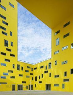 A influência das cores na arquitetura