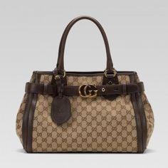 Gucci 247183 Ftaqt 9643 Gg Running'Medium Tote mit GG-Detail Gucci Damen Handtaschen