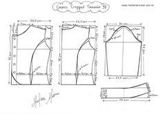 como fazer molde costura - Pesquisa Google