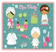 mobile spa parties for girls | Rates And Services - PurrSnickety: Mobile Spa Parties for Girls