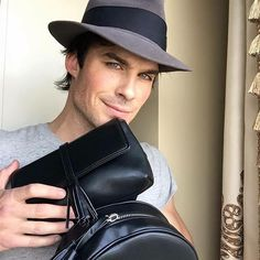 #Repost @iansomerhalder (Facebook): My wife's bag line is pretty incredible. I love them and the message. Wow. Not only are they made in the U.S., so by purchasing one you're supporting a local economy, but they're also made from recycled plastic from landfills and the ocean. If you're considering a holiday gift for someone, THIS is what you should be supporting because THIS is what will change the world. FreedomOfAnimals.com :)