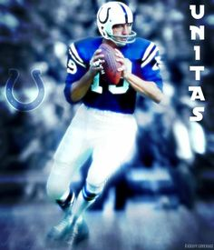 INDIANAPOLIS COLTS JOHNNY UNITAS EDIT