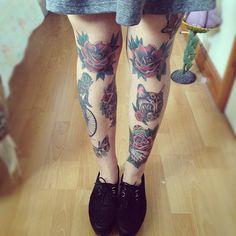 Knee tattoos »>