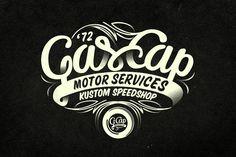 GasCap Motor's Logotype  Alex Ramon Mas Design