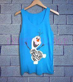 olaf DOING Whatever Snow Doe... from shirtpillake on Wanelo