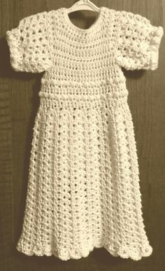 New born baptismal gown made by Dede feist