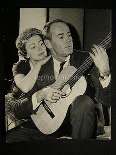 Olivia de Havilland & Henry Fonda