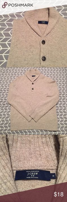✨SALE✨ • J.CREW • 100% wool sweater J.Crew men's sweater. 100% lambs wool. Size M. Worn once. Excellent condition! J. Crew Sweaters Cardigan
