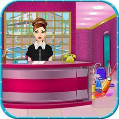 Temizlik severlerin beğenerek oynayacakları Hotel Room Cleaning oyunu ile, çocuklarda keyifli vakit geçirecekler.