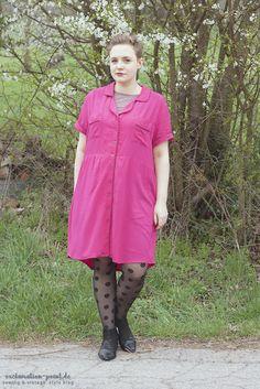 Closet Case Patterns hack: Carolyn Pajamas into dress!