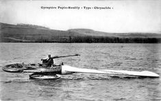The Gyroptere or Gyropter of 1913 was a single rotating blade flying machine designed by Alphonse Papin and Didier Rouilly. The blade or rotating wing was counterbalanced by an 80 h.p. nine cylinder Le Rhone rotary engine. A nozzle on the far tip of the rotating blade provided additional thrust and the pilot operated the craft from a non-rotating nacelle. Tests on a lake ran into problems with the blade hitting the water. The results were described as inconclusive, lacking enough power for…
