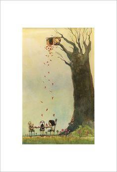 """Fall"" print by artist Chris Appelhans"