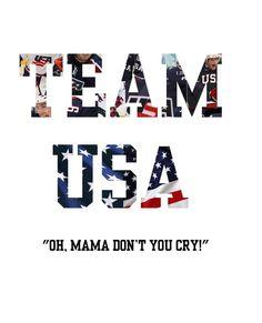 TEAM USA ALL THE WAY!