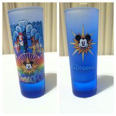 World of Coloer Disney shot glass