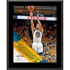 "Stephen Curry Golden State Warriors Fanatics Authentic 10.5"" x 13"" 2017 NBA Finals Champions Sublimated Plaque"