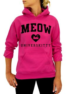 Meow Universkitty Unisex Pullover Hoodie -- Find out more about the great product at the image link.