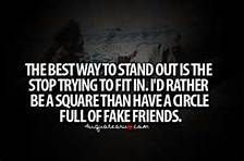 The best way to stand out....