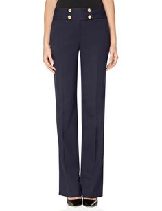 High Waist Modern Trouser Pants | High Waist Work Pants | THE LIMITED #TheLimited #MilitaryTrend