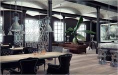 DURALMOND CELOSIA-Raumteiler von StoneslikeStones für stilvolle Gastronomie