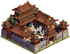 Heavenly Compound holds up to 25 people Ancient Chinese Architecture, Minecraft Architecture, Japanese Architecture, Minecraft Japanese House, Minecraft Houses, Construction Minecraft, Chinese Courtyard, Japanese Style House, Future Buildings