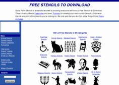 free primitive stencils | free stencils printable stencils stencils free to download 1000 s of ...