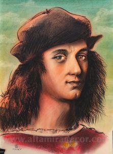Ritratto di Angelo Doni | Altamiradecor, bottega d'arte di Franco Pagliarulo