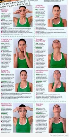 facial yoga for women omg, this was just exactly what I was looking for, ...have you ever seen that under the chin sag? ycch
