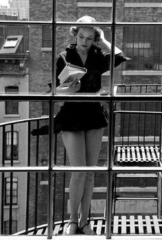 When she sensibly gave up smoking she had no reason to go out on the balcony anymore. She missed it so much that she took up reading out there instead.