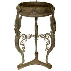 Early 19th. Century Grand Tour Brazier Stand