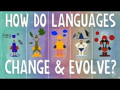Was there one original language and how do languages change and evolve?