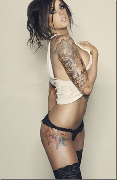 Thigh Tattoos for Women | Hot Sexy Girl With Tattoo Design (Pictures) Part 4 - Tattoos - Zimbio