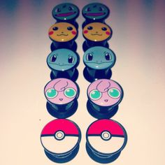 My Life in Photos - My new Pokemon themed plugs arrived. They look beautiful!