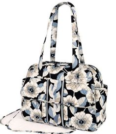 My Mothers Day gift from my perfect husband Dean. Vera Bradley Baby Bag in  Camellia print 8e7bba822caa7