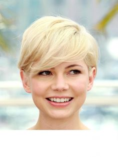 Image result for round faces with pixie cuts
