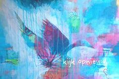 Abstract intuitief schilderen