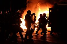 Protests Flare After Ferguson Officer Is Not Indicted - NYTimes.com
