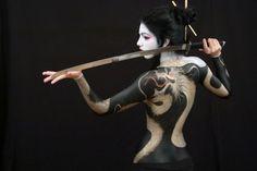 Tiki Loves Tattoos #tattoo #geisha