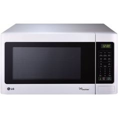 I am very pleased with this microwave with one exception.  The control panel is impossible to read without a bright light shining on it.  I keep a small flashlight sitting on top of the microwave oven.  However, it works well, is very quiet and is easy to clean due to the rounded corners.