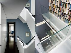 Stair-New York City Townhouse by FdM Architects