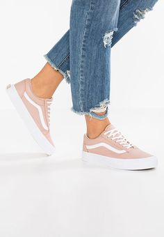 Chaussures Vans OLD SKOOL DX - Baskets basses - maghogany rose/true white beige: 94,95 € chez Zalando (au 10/01/18). Livraison et retours gratuits et service client gratuit au 0800 915 207.