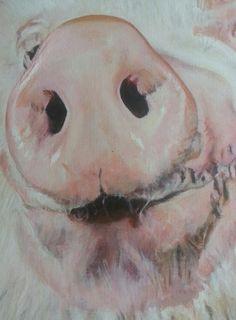 I Wis Framed (oink)   DegreeArt.com The Original Online Art Gallery