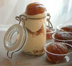 Verrine au marron glacé. Plus de recettes de verrines sur : www.enviedebienmanger.fr/recettes/verrines
