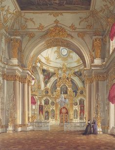 Cathedral in the Winter Palace  -Edward Hau