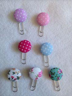 15 Manualidades para decorar clips con figuras de cartulina y foami