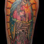 Portrait, Tattoos, Tattoo Man, Realist Tattoos, Vibrant Hair Colors, Portraits, Tatuajes, Men Portrait, Tattoo