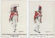 Campagne d'Egypte 1799 9e Demi-Brigade de ligne, Sergent de Grenadiers 9e Demi-Brigade de ligne Grenadier