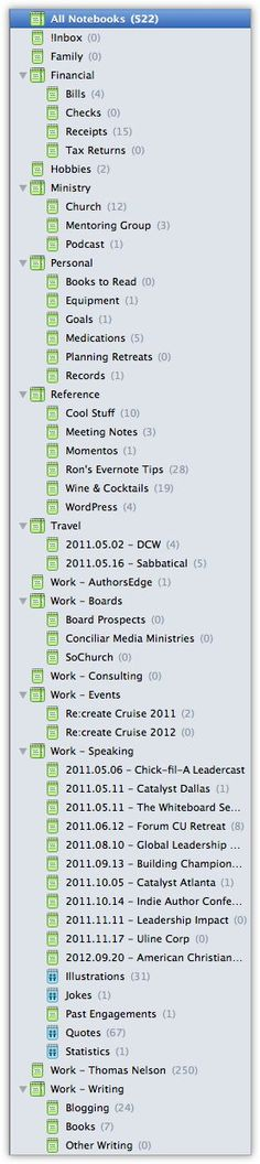 How to Organize Evernote for Maximum Efficiency If you want to get the most out of Evernote you need to take advantage of using notebooks, stacks, and tags. Do It Yourself Organization, Life Organization, Business Organization, Planners, Computer Help, Computer Tips, Computer Literacy, Just In Case, Just For You