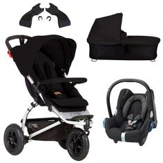 Mountain Buggy Swift 3 in 1 Travel System + CabrioFix